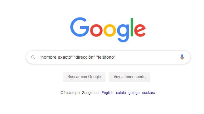 busqueda menciones en google